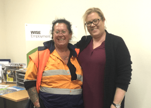 Sheryl found work in traffic control with help from WISE Employment Pakenham jobactive.