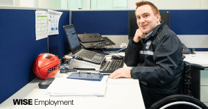 Steve is kicking employment goals with AFL Victoria
