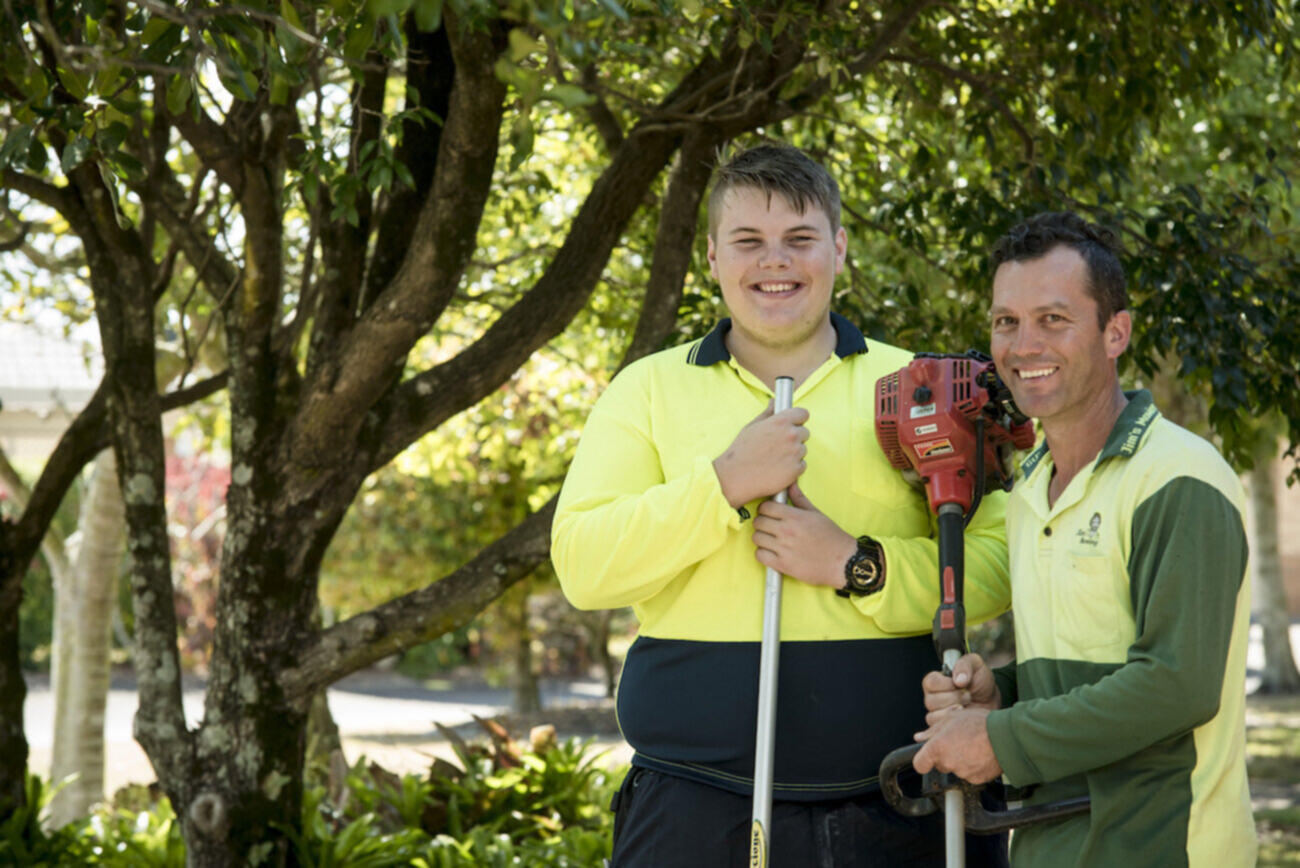 Cameron, living with ADHD and intellectual disability, expands his interests to land a new job in landscaping, thanks to WISE Employment