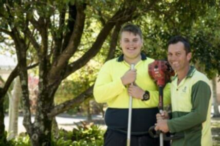 Cameron, living with ADHD and intellectual disability, expands his interests to land a new job in landscaping