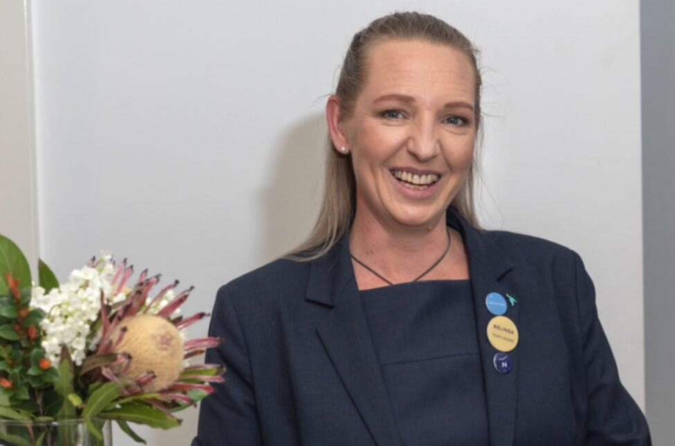 Belinda, who lives with mental illness and Crohn's disease, excels in Novotel leadership role