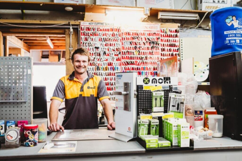 Reece, living with depression and anxiety, returns to work after three years' unemployment, thanks to WISE Employment Morwell in Latrobe Valley