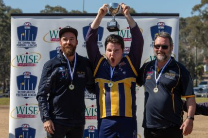 WISE Employment back on board to sponsor Victorian FIDA Football League Metro Conference 2019