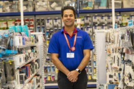 Natural talents and interests help Aeron land his new job at inclusive employer, Officeworks