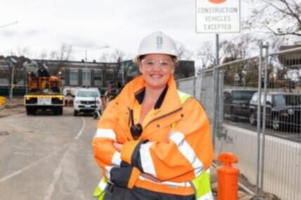 Carol leads the charge for women in construction