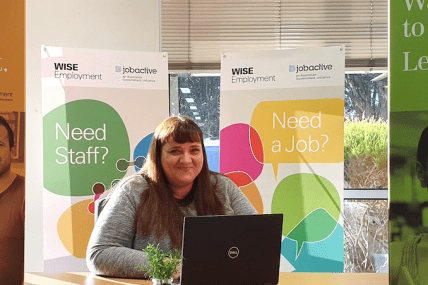 Brigitte pays it forward and helps 137 people find work in one year