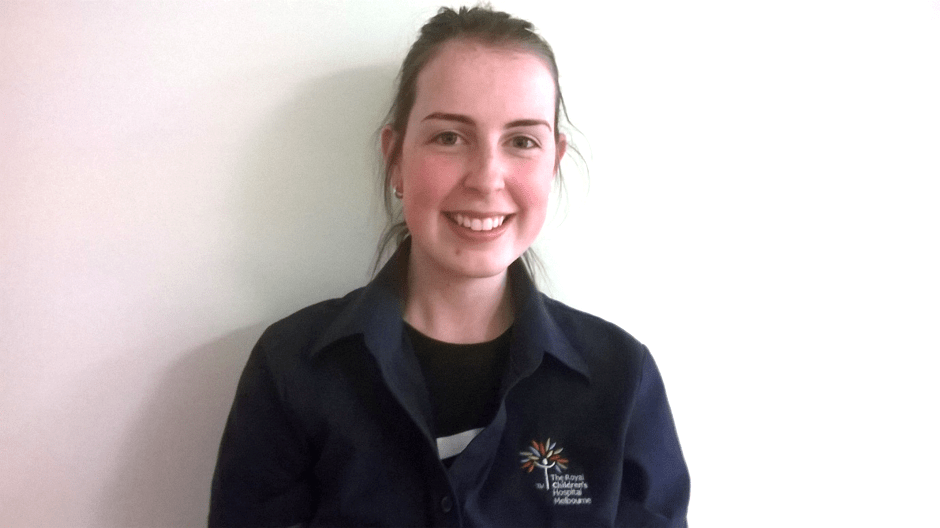 Laura reaps benefits of The Integrated Practical Placement Program – a joint collaboration with The Royal Children's Hospital, Holmesglen Institute and WISE Employment
