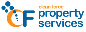 Clean Force Property Services logo. Clean Force offers supported pathways to employment via NDIS.