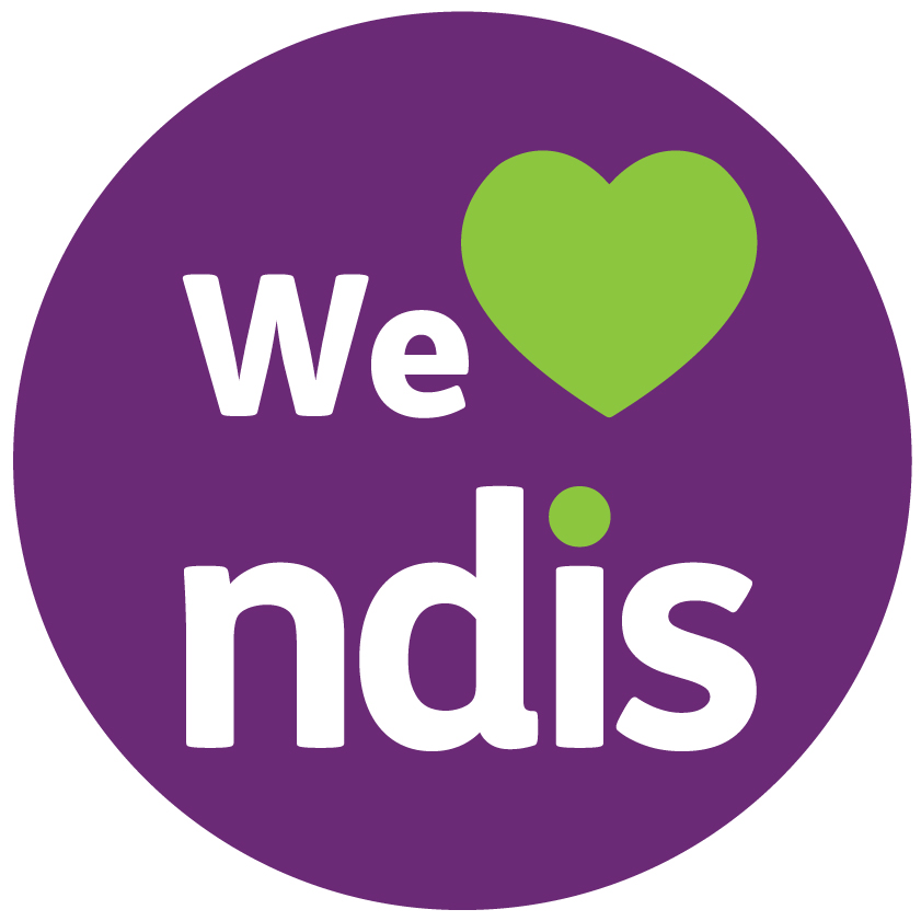 We love the NDIS logo